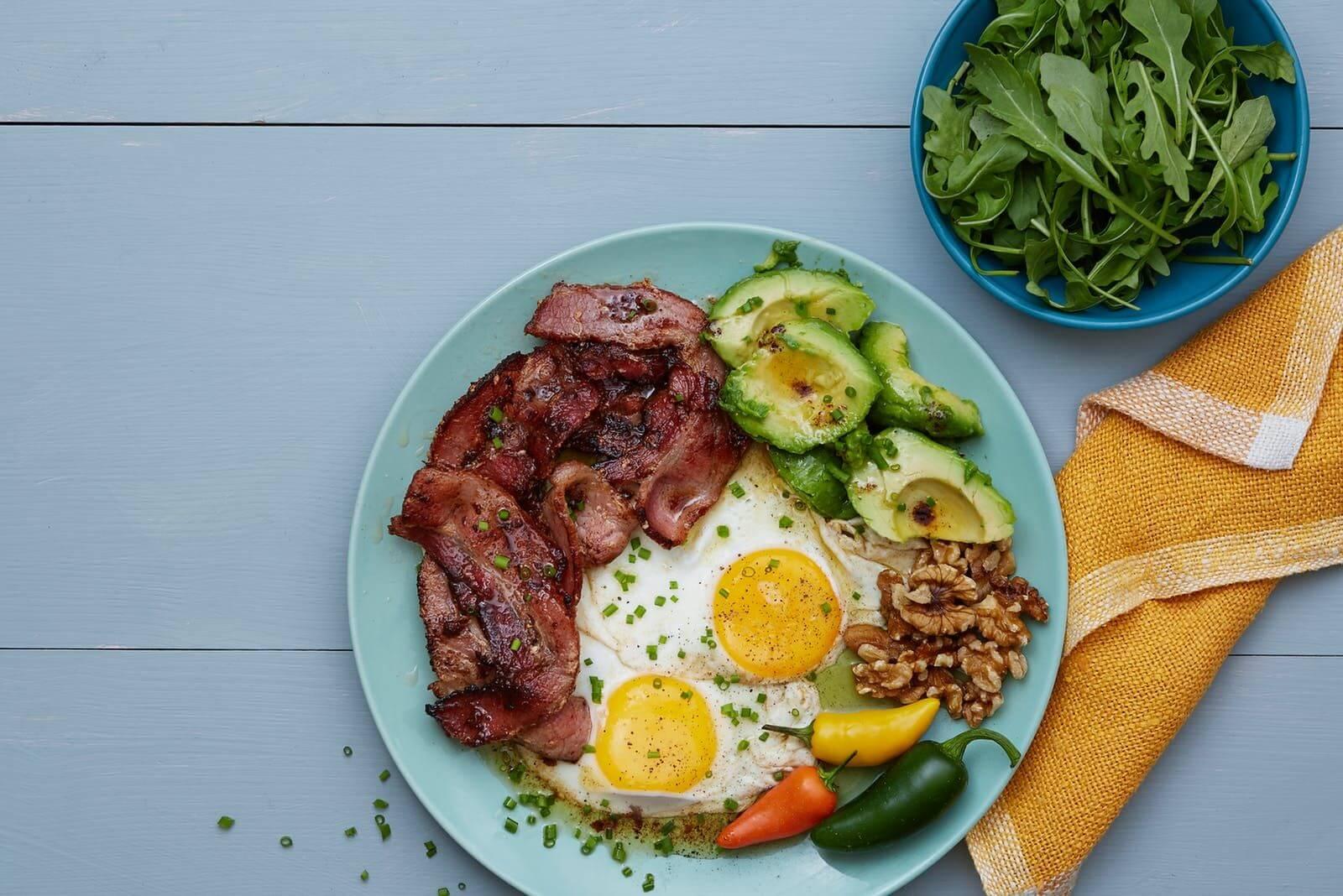 Desayuno keto en la planificación de comidas semanales