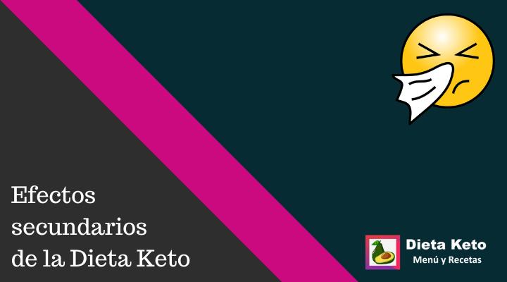 Efectos secundarios de la dieta keto