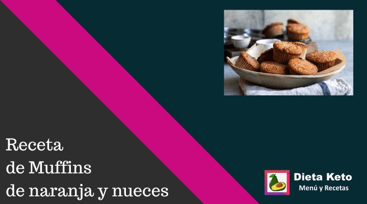 Receta de Muffins de naranja y nueces 🥧😜