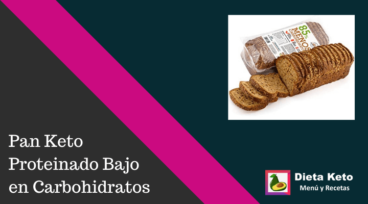 Pan Keto Proteinado Bajo en Carbohidratos