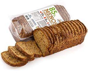 Pan Proteico SiempreTierno XXL 500 grs · Pan Keto Proteinado Bajo en Carbohidratos · 28% de Proteínas · Ideal dietas Hipocalóricas y Altas en Proteínas KETO · Dura hasta 88 días sin frio