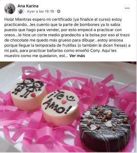 Chocolatería Master ChocoArt Academy testimonios